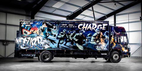 Banksy Volvo Truck
