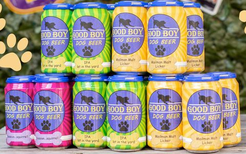 A Couple Created Good Boy, a Line of Beer Your Dog Can Drink