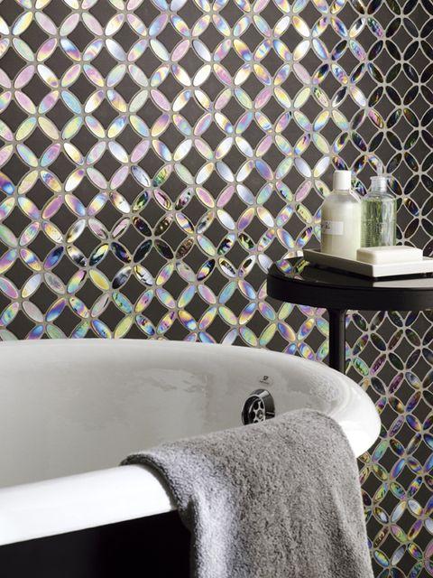 Plumbing fixture, Fluid, Purple, Wall, Mesh, Bathroom sink, Tap, Bathroom accessory, Plumbing, Tile,