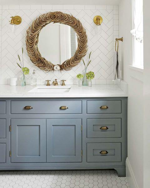 Espejos de lavabo: redondo