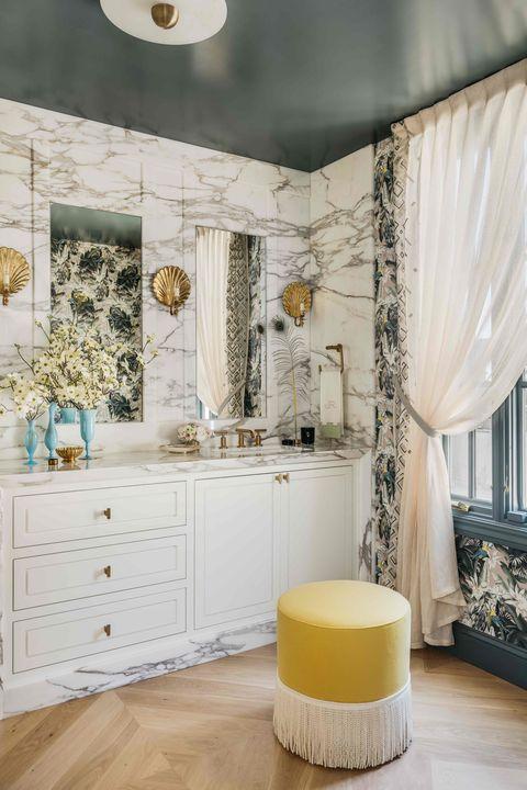 Baño de estilo sofisticado