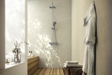baño estilo spa