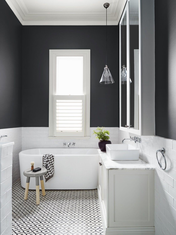 Cuartos de baño en blanco y negro- Black & White, un dúo perfecto ...