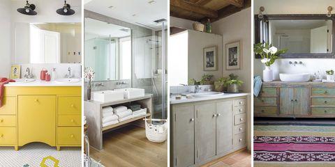 Baños de diferentes estilos - Muebles para el baño