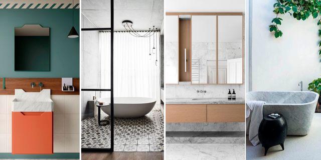ideas cuartos de baño de diseño bañeras sanitarios revestimientos griferías