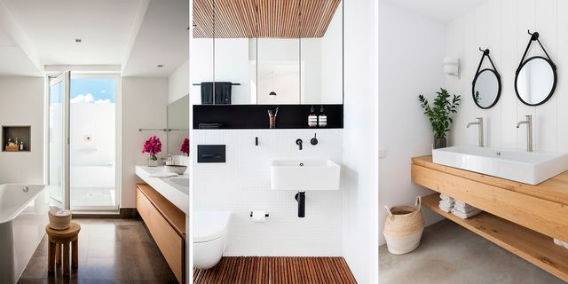 cuartos de baño de estilo nórdico