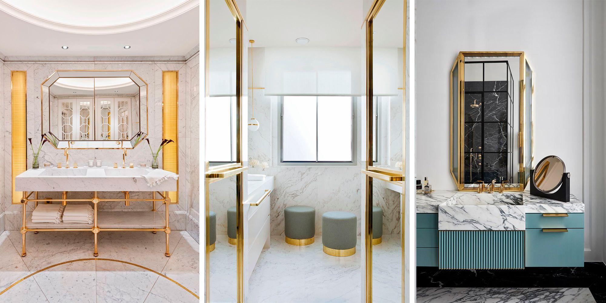 10 baños modernos y muy sofisticados