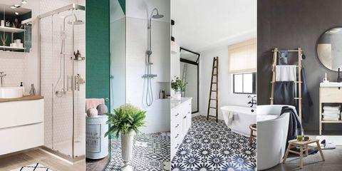 baños modernos con ducha o bañera