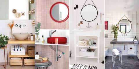 Baños modernos: lavabos mini