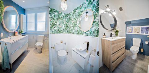 baños reformados sin obra