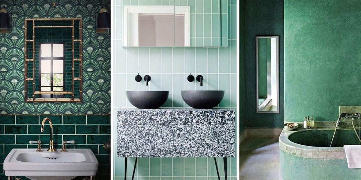 Instagram se llena de cuartos de baño verdes