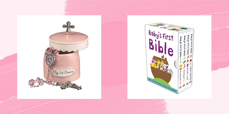 Baptism Gift for Girl Baby Memory Box with Key Custom Keepsake Jewelry Box Girls Jewelry Box New Baby Girl Monogrammed Treasure Chest