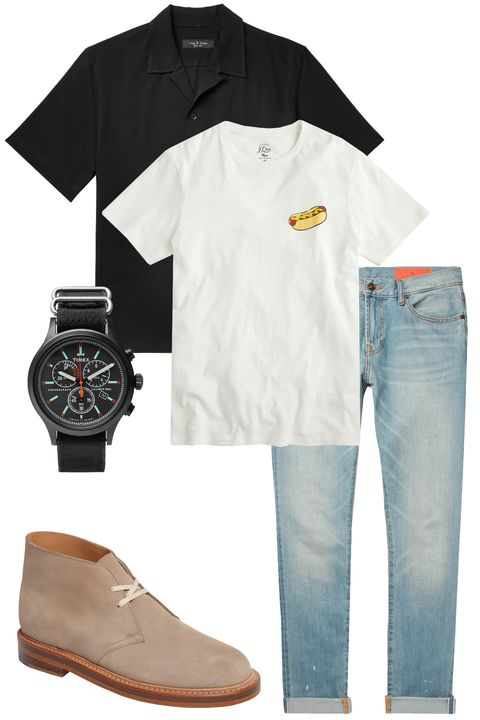White, Clothing, Product, T-shirt, Jeans, Sleeve, Footwear, Denim, Brand, Shoe,
