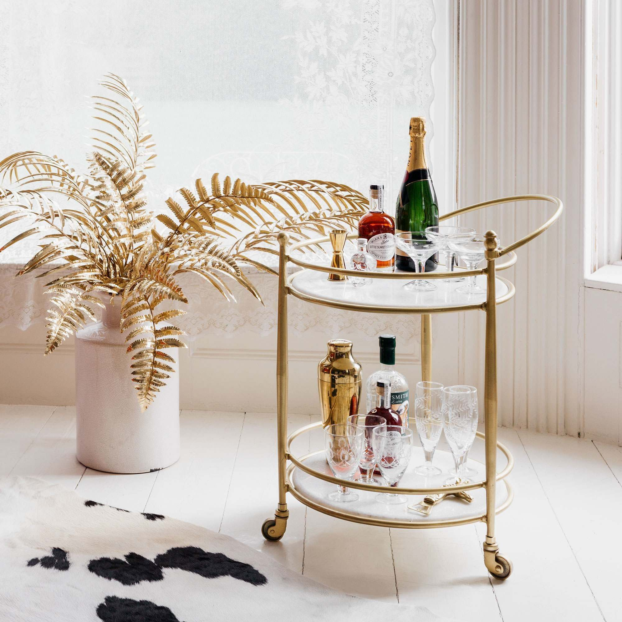16 Best Bar Carts Best Drinks Trolleys
