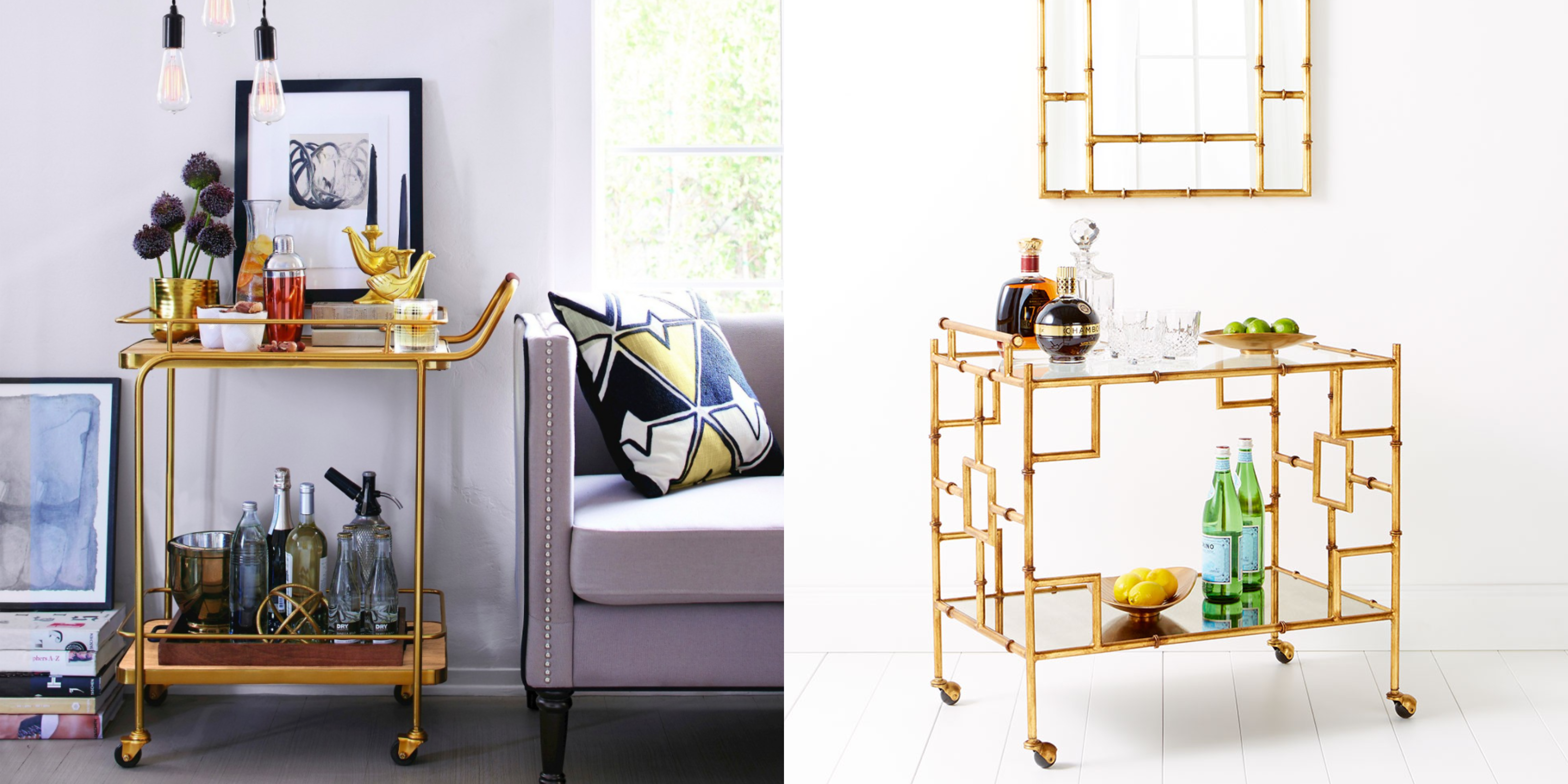 Picture of: 15 Stylish Bar Carts Every Hostess Needs Best Bar Carts
