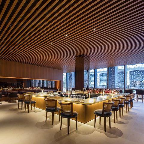 The Four Seasons Restaurant Bar Room