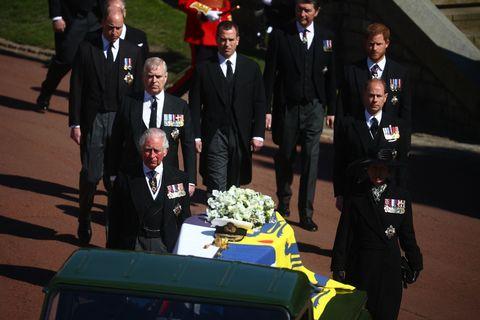 Le foto del funerale del principe Filippo