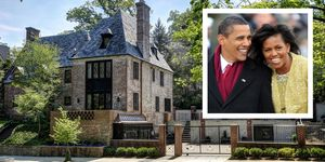 Barack And Michelle Obama New House In Washington D.C.
