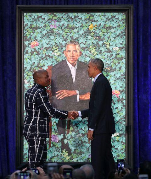 barack obama kehinde wiley zwarte kunstenaars