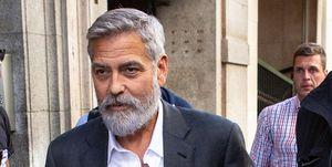 George Clooney Sighting In Madrid - September 24, 2019