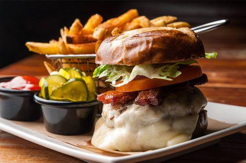 Dish, Food, Cuisine, Junk food, Breakfast sandwich, Ingredient, Fast food, Hamburger, Slider, Brunch,