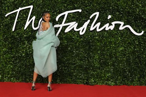 BRITAIN-FASHION-AWARDS