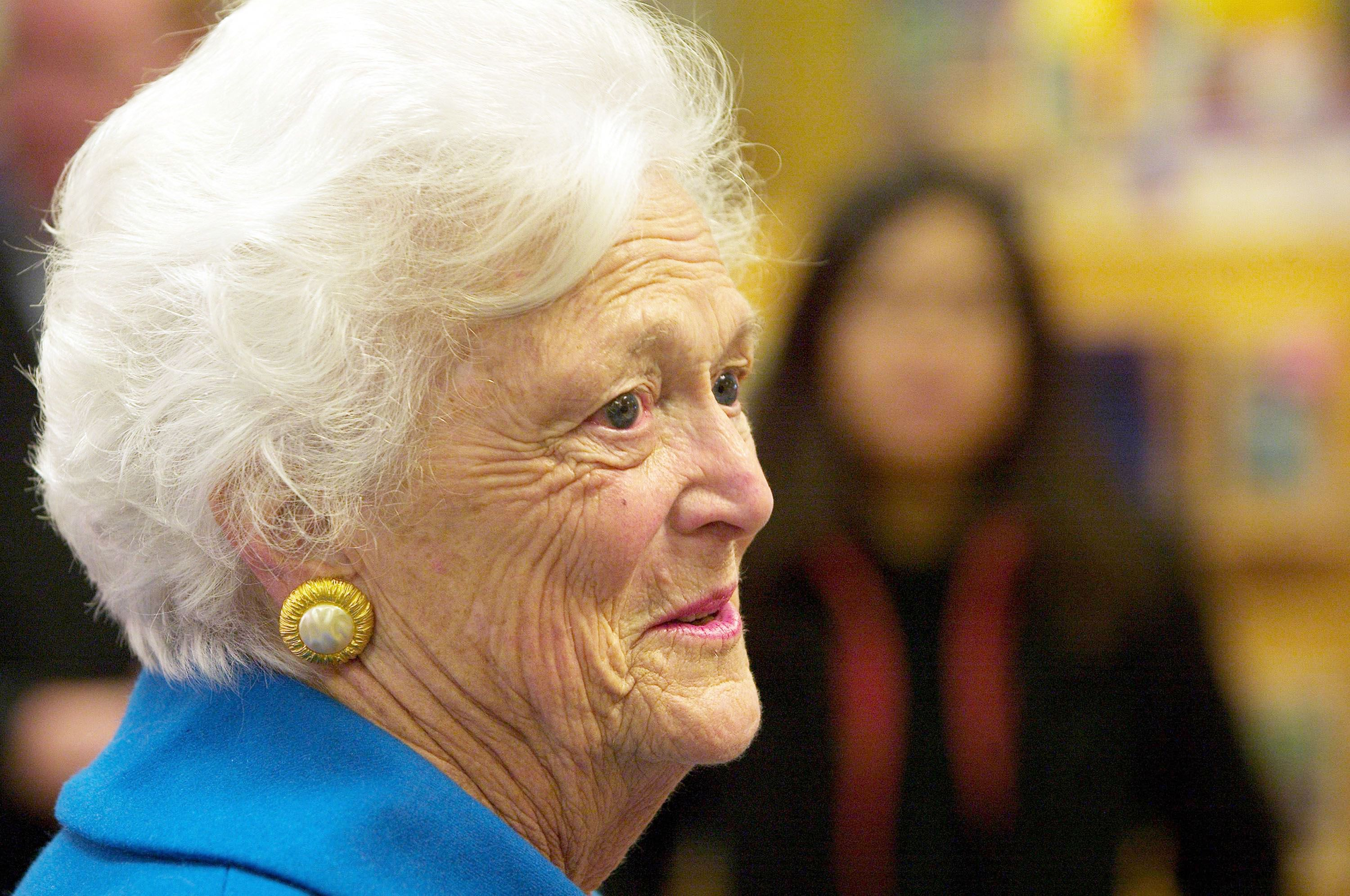 Barbara Bush Quit Smoking in 1968 After a Nurse Called Her Out