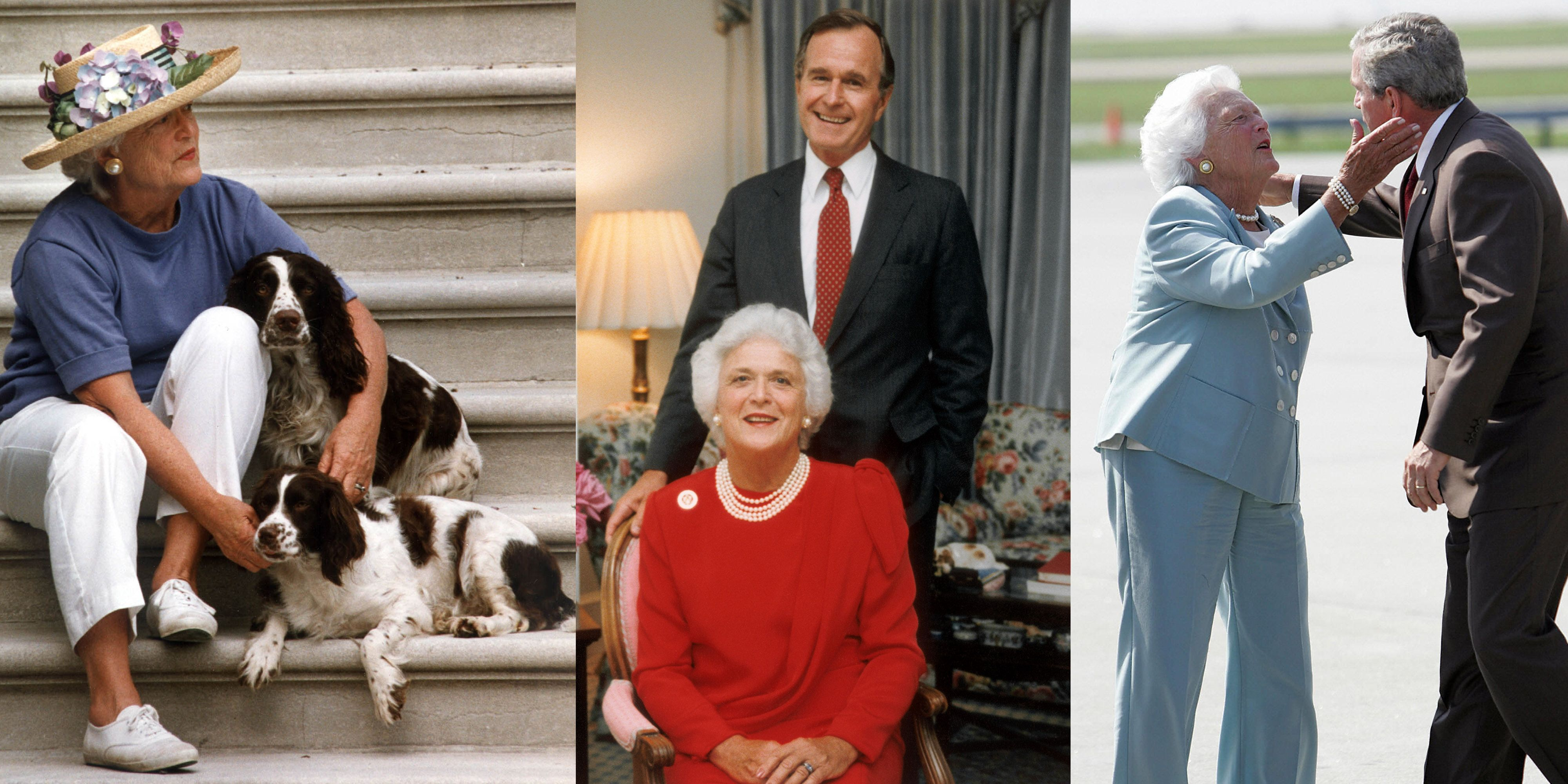 Barbara Bush S Life In Photos Pictures Of Young Barbara Bush To Now
