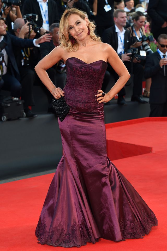 venice, italy   august 27  barbara durso attends birdman premiere during  71st venice film festival on august 27, 2014 in venice, italy  photo by stefania dalessandrowireimage