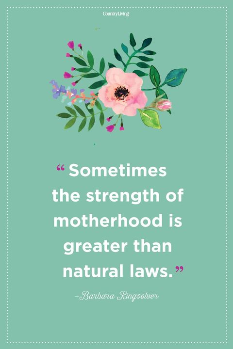 mother daughter quotes strength barbara kingsolver