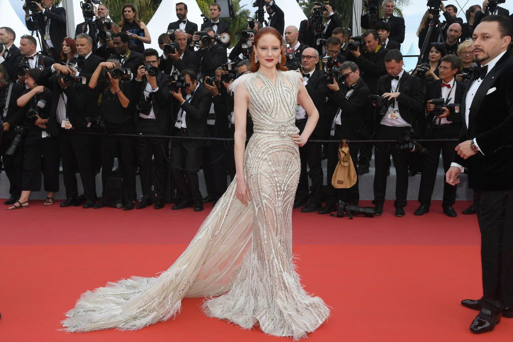 Barbara Meier At the opening ceremony of the Cannes Film Festival and premiere of The Dead Don't Die .