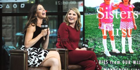 Build Presents Jenna Bush Hager & Barbara Pierce Bush Discussing Their Book 'Sisters First: Stories from Our Wild and Wonderful Life'