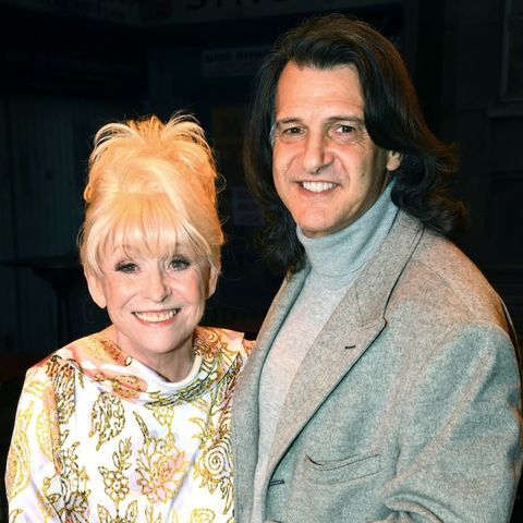 Barbara Windsor with husband Scott Mitchell at the Only Fools musical