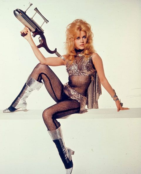 "Jane Fonda in ""Barbarella"""