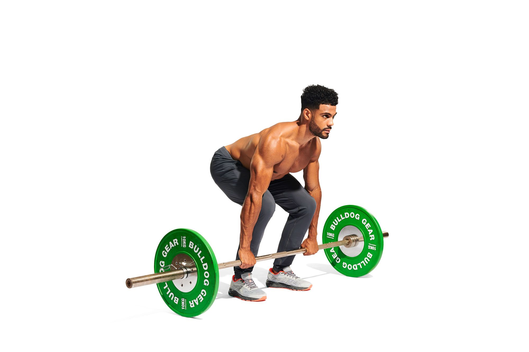 Burn Fat and Build Muscle With This All-In-One Barbell Burpee Workout