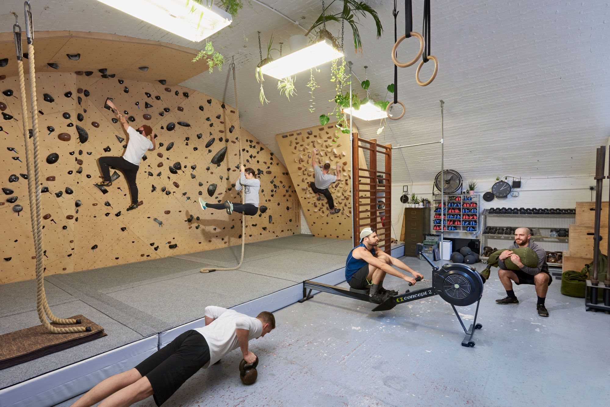The Best Gyms In World Barber S Gym