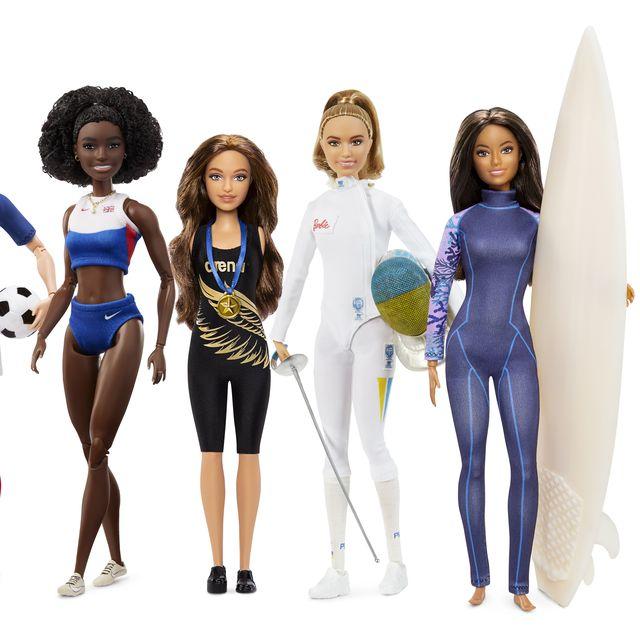 Barbies de deportistas que irán aTokio 2020