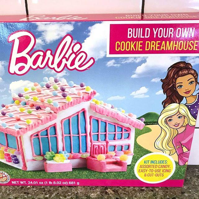 barbie dreamhouse cookie kit