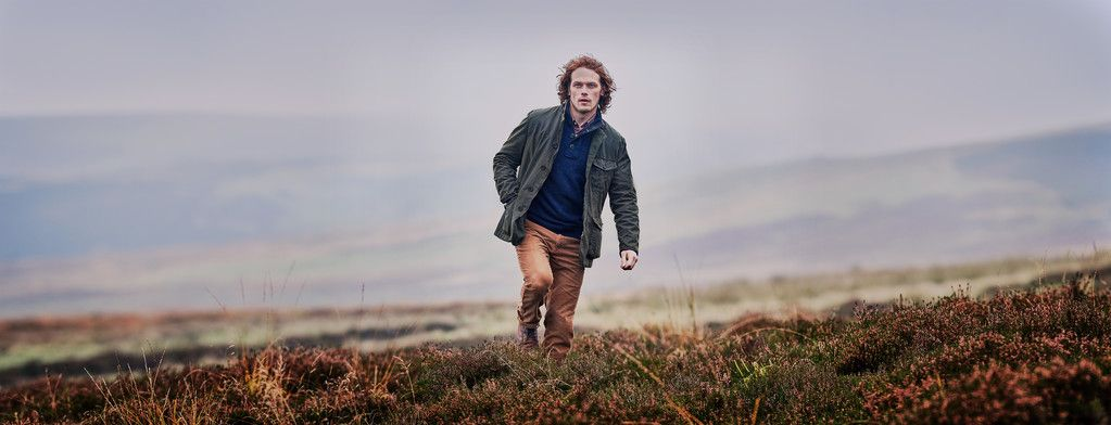 Sam Heughan for Barbour