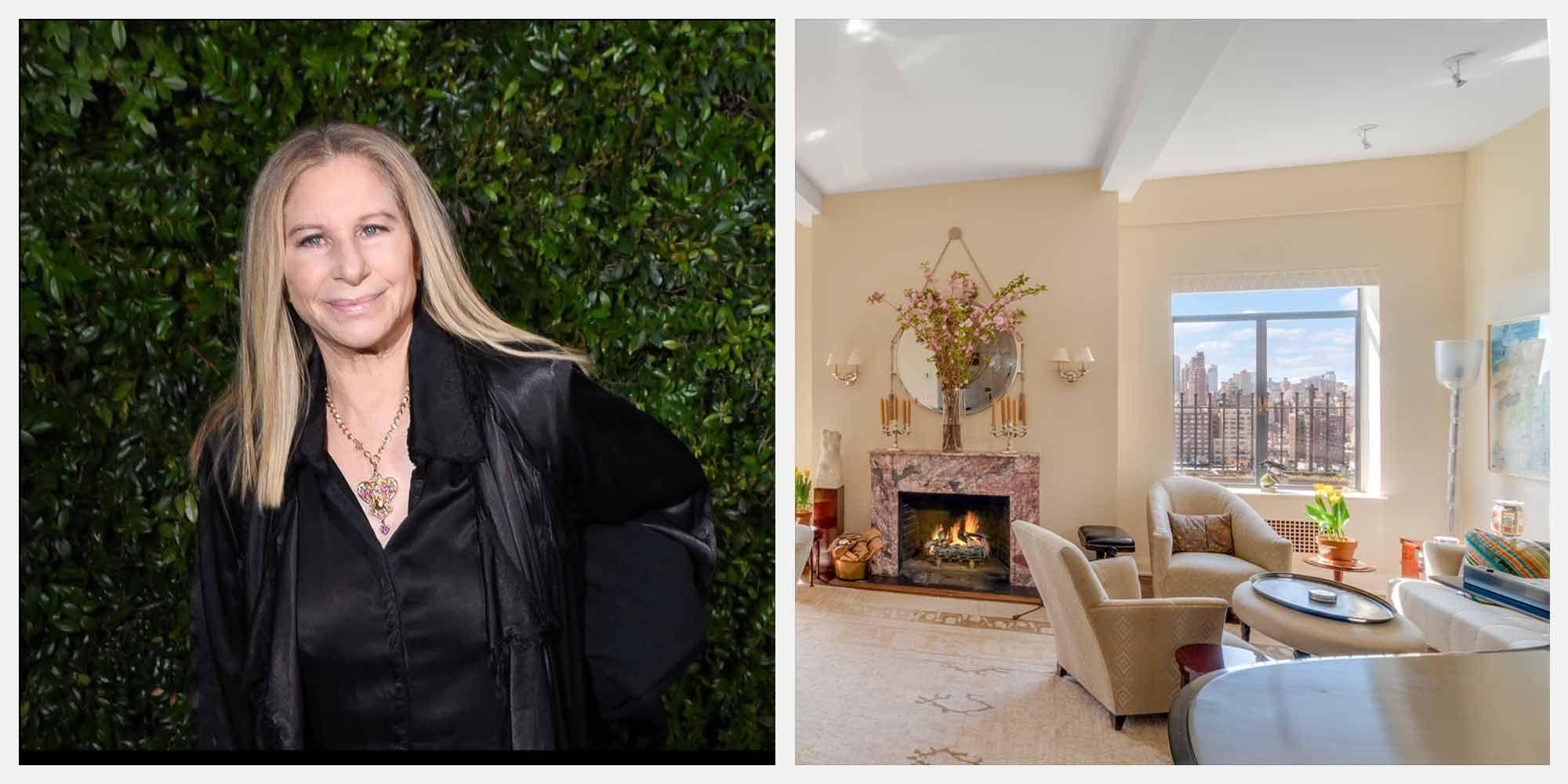 Barbra Streisand's Former New York City Home Listed for $11.25 Million