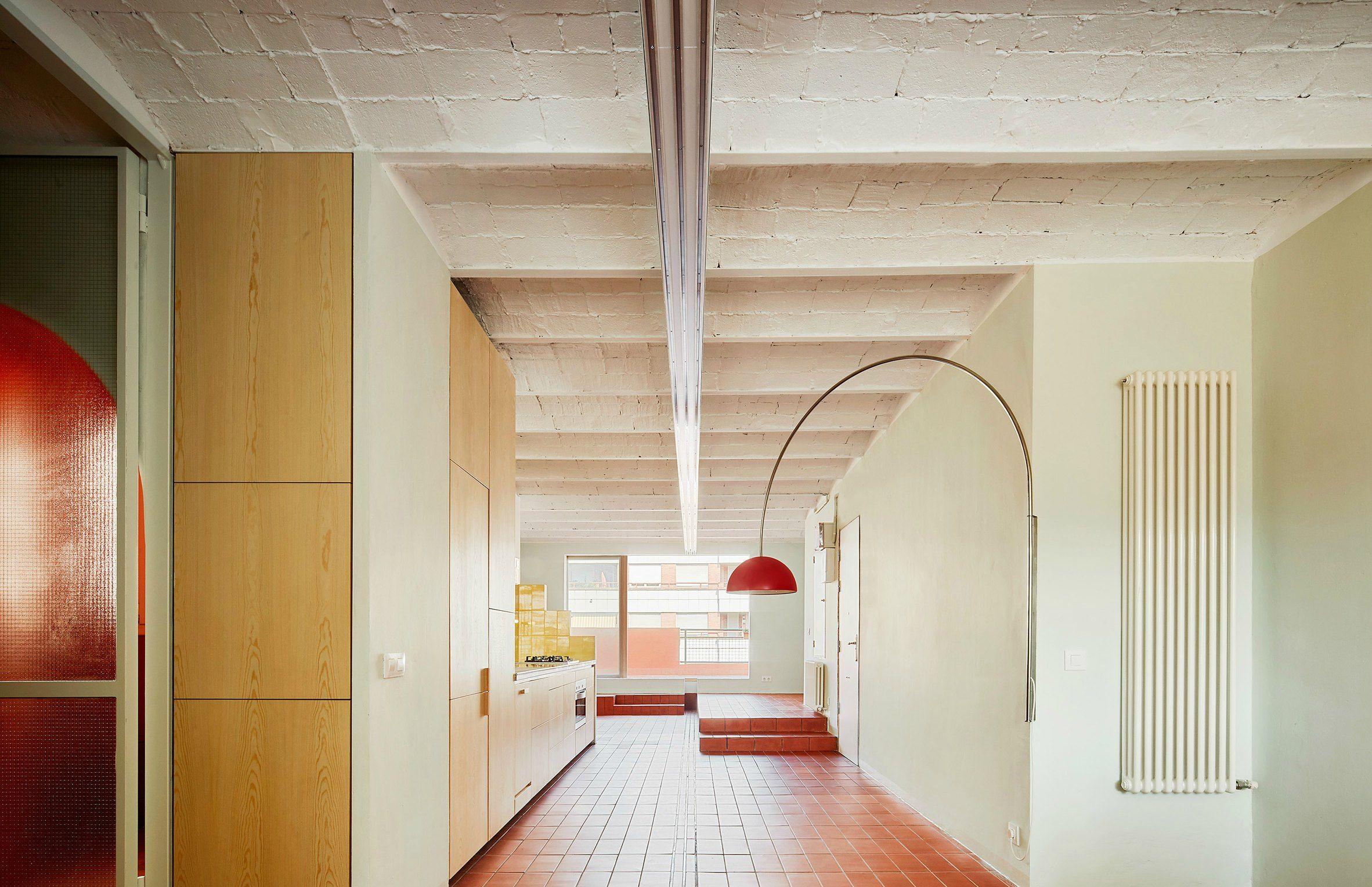 Piastrelle colorate per ht apartment by landmak architecture arc