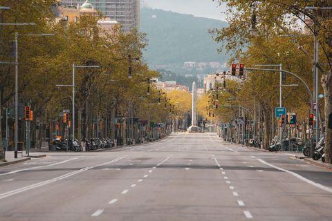 calles desiertas por el coronavirus
