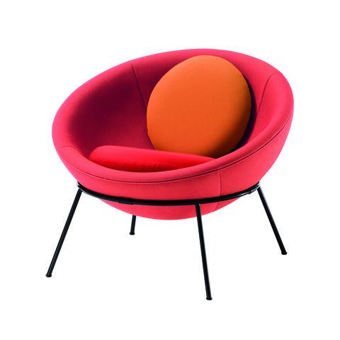 lina bo bardi's bowl chair for arper