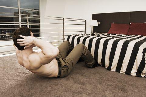 trucos para entrenar en casa