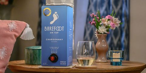 Barefoot's New Boxed Wine Holds 4 Bottles Worth, So the Party Can Go All Night Long