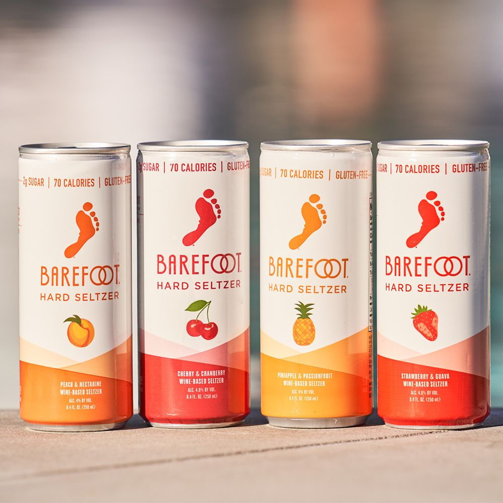 Barefoot Is Releasing a Line of Wine-Based Hard Seltzer to Get You Ready for Summer