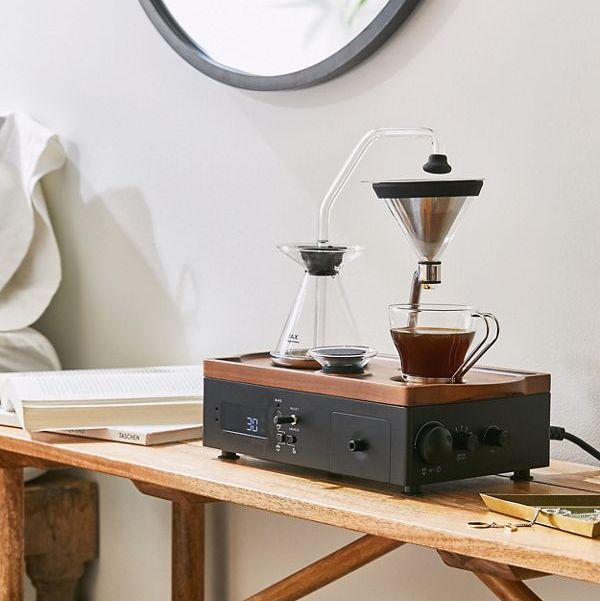 This Alarm Clock Wakes You Up With a Fresh Cup of Coffee Every Morning