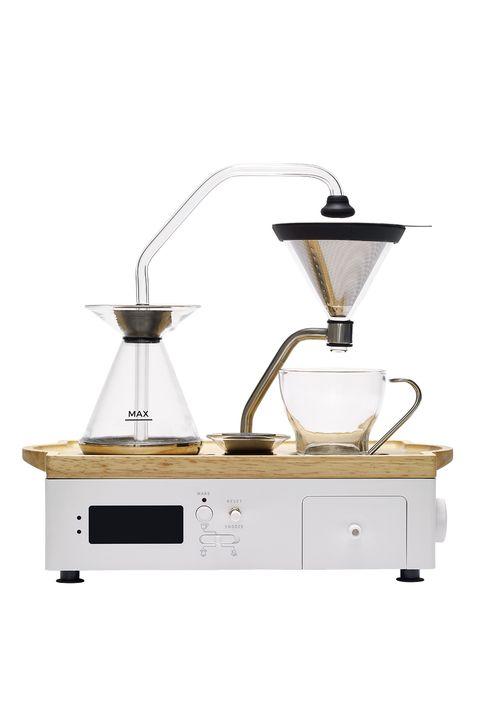 barisieur coffee and tea maker and alarm clock