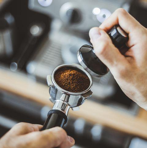 koffie leren zetten