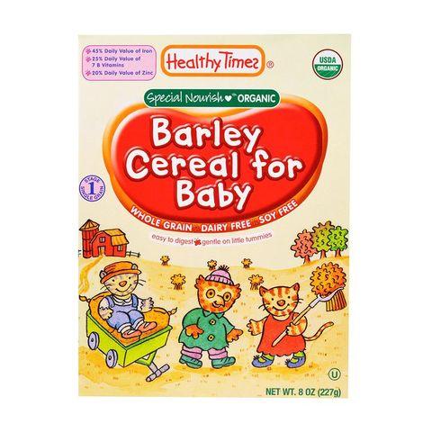 Organic Barley Baby Food